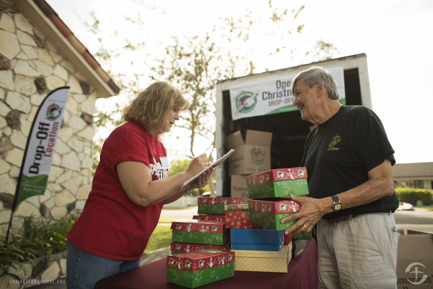 Our Blog - PCBC is an Operation Christmas Child Drop Off Location